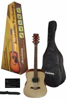 guitarra acustica - daytona guitarra electrica tipo stratocaster color sombreado pack